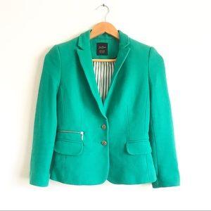 Zara Trafaluc Green Blazer Sz XS